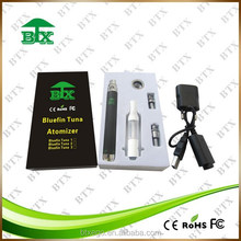 Hot sale best quality BTX e cigarette starter kit smoking glass pipe