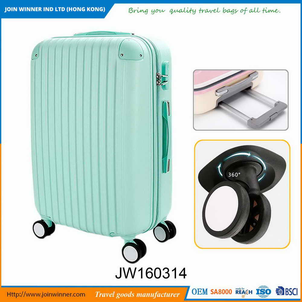 Newest Design High Quality Lightweight Hard Case Luggage Manufactory
