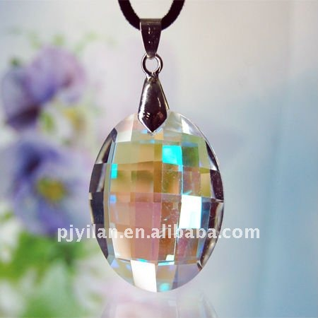 beauty crystal rainbow pendant