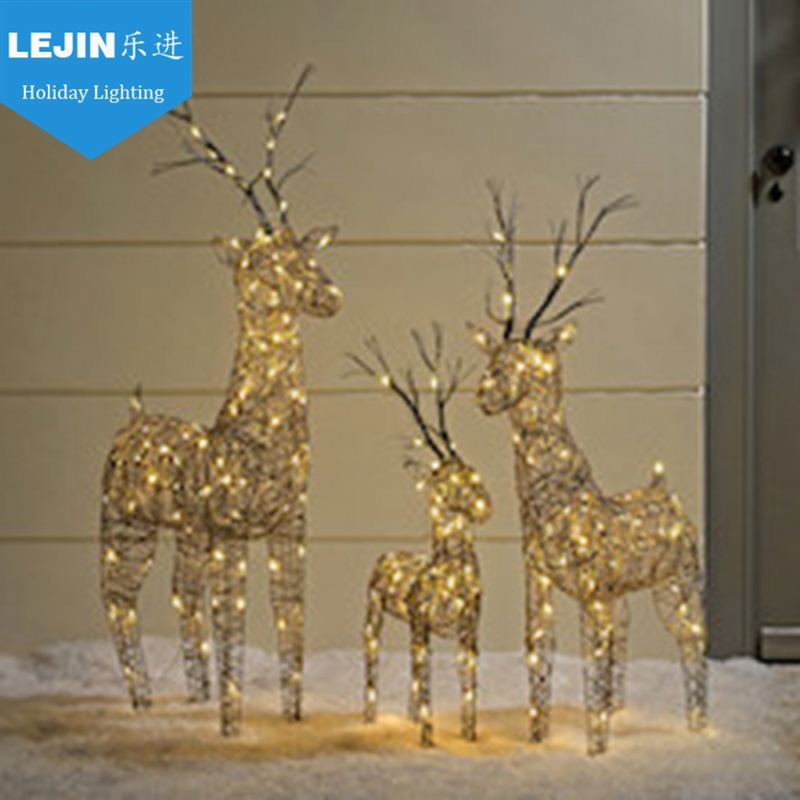 led motif light 3d motif light outdoor christmas light animals