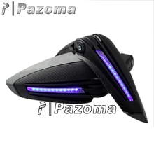 PAZOMA Hot sale hand guard X-Tarmac Handguards Black fit for 2008-2010 BUELL 1125R 2009-2014 DUCATI 696 Monster 200
