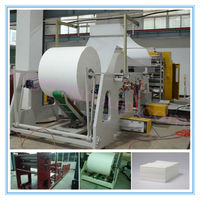 Germany Siemens PLC & Interver Control Embossed Facial Tissue Paper Interfolding Machine