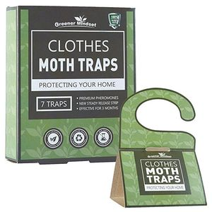 hot sell clothes Moth Traps With Pheromone Attractant hook design to hang in the closets