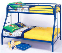 Cheap strong dormitory furniture school dormitory iron double bed for boarding school