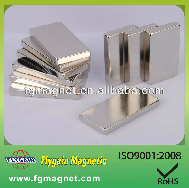 strong sintered rectangle ndfeb magnet