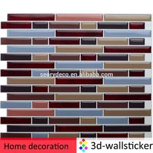 New coming removable vinyl material chinese restaurant decoration for living room