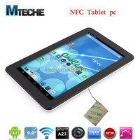 Allwinner A23 Dual core 9inch NFC tablet pc support NXP card reader