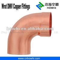 DWV copper fitting, 90 Degree Elbow - FTG x C, for water pipe system
