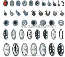 6 wheelchair caster wheels