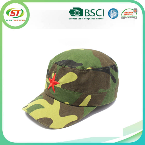High quality cheap camo embroidery logo military boonie hat