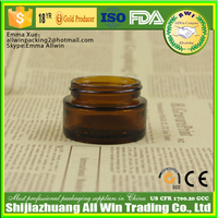 20ml Amber Glass Cosmetic Jar Luxury