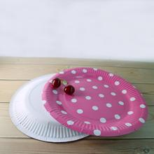 Wholesale Round Shape Disposable Custom Printed Birthday Paper Plates