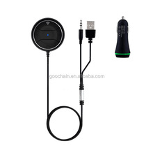 Noise Isolator Bluetooth Receiver Hands-Free Calling Bluetooth Car Kits for Car Stereo Output