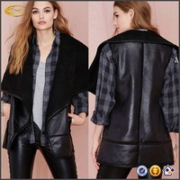 ladies costume motorcycle leather vest