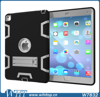 Customized 9.7 inch Tablet Case 3 in 1 PC TPU Heavy Duty Hybrid Robot Kickstand for iPad Pro 9.7