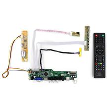 TV lcd controller boards work for 14.1~15inch 1024x768 30Pin lcd Panel