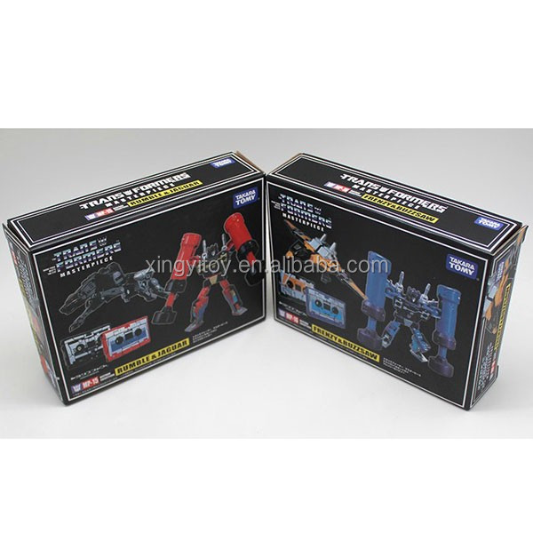 Takara Tomy 2pcs Set KO Transforme Masterpiece MP-15 Rumble & Jaguar + MP-16 Frenzy & Buzzsaw toy Action Figure