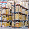 Warehouse Heavy Duty Battery Storage Multi-Tier Racks With Warp Beam