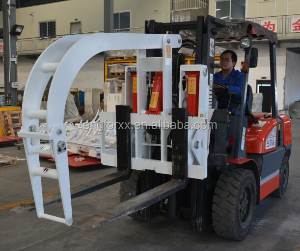 Forklift Attachment Steel Pipe Clamp Lift Truck Accessories