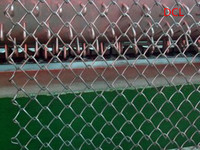 factory promotion , very popular and high quality chain link fence netting ( 10 years factory )