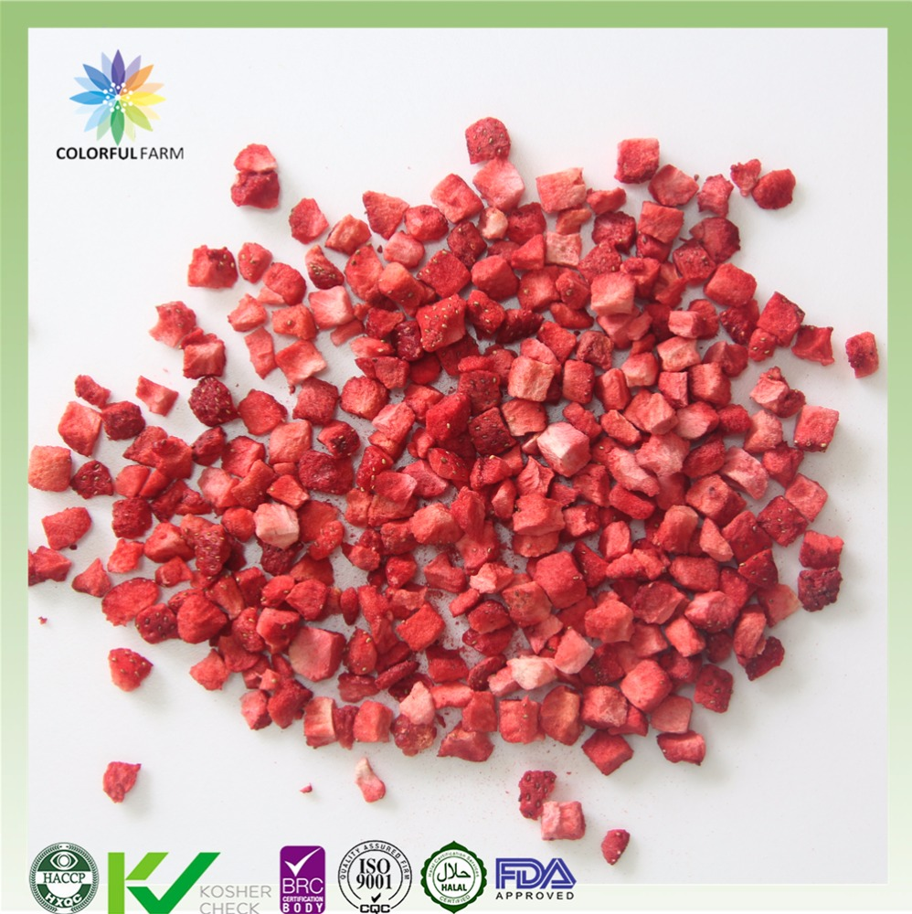 freeze dried fruit of FD strawberry granule