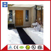 UL heated mats melt snow,stair snow melting mat,stair rubber heating mat