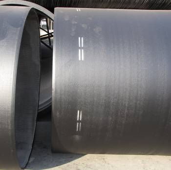 Ductile Iron Pipes DN800 T type, potable water / sewerage pipe, ISO/BS EN
