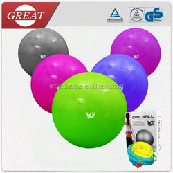 China factory anti burst daily sports different color exercise ball
