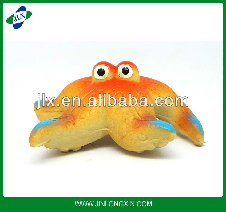 Bath toys Starfish toy Plastic toys Lovely animal figurine