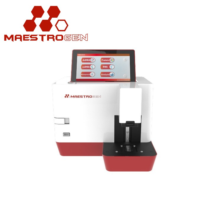 MaestroGen MN-913A new design single bean uv vis spectrophotometer price with realizes a user-friendly interface