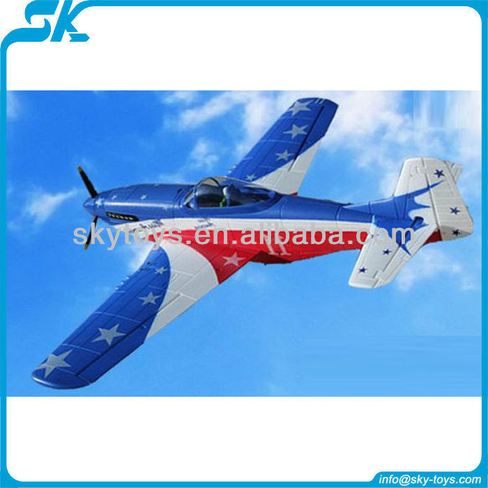 !1.4m 4-CH EPO warbird P51 Mustang TW758-1 electric model airplane rc toy cheap rc planes
