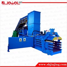 horizontal hydraulic full automatic tie corrugated paper trimming press baler