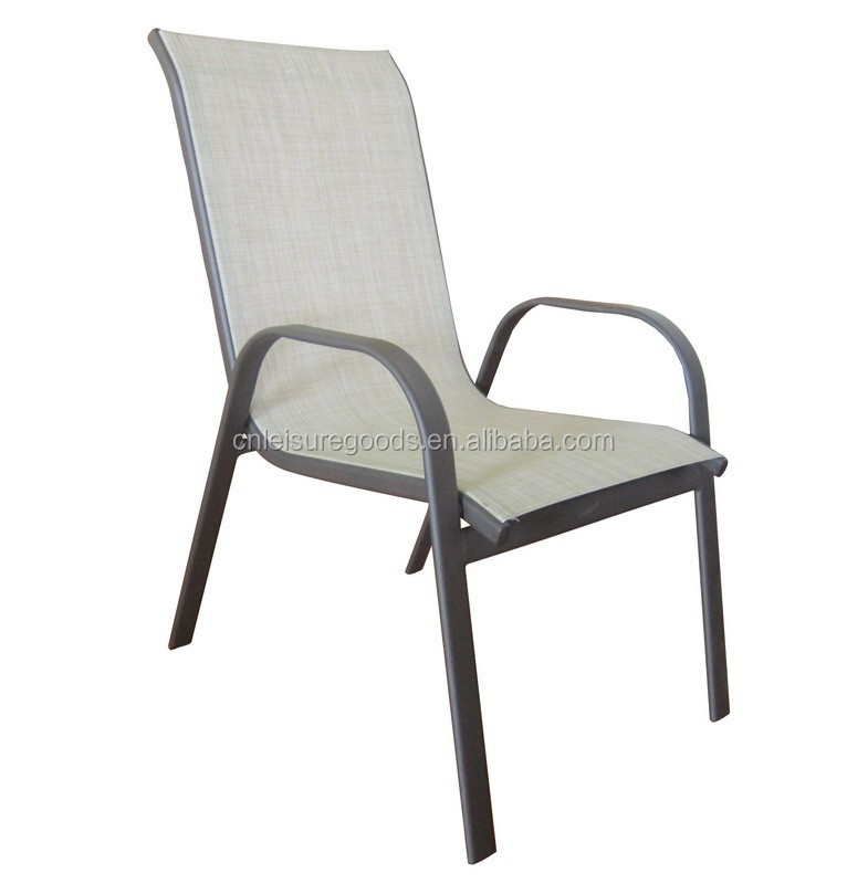 Metal Outdoor Stacking Chairs