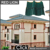 S1 flat roof solar panels mount copper colored metal roofing tiles
