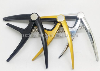 2016 new fashion musical instrument aluminium alloy guitar capo