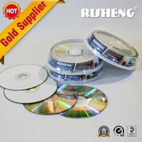 RISHENG blank 8.5 dvd printable /dual layer dvd blanks/dl dvd 10cake