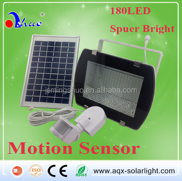 Solar led Flood Lighting, solar motion sensor light 10w