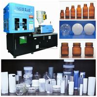 JASU 10-1000ml plastic PET bottle one step stretch blowing machine