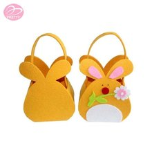 China factory price the most popular easter bunny shaped party bags