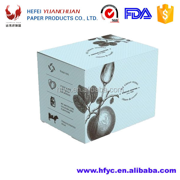 custom retail Frozen food packaging boxes