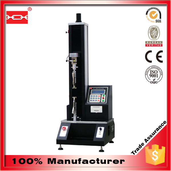 Electric Desktop Digital Tensile Testing Machine (Single Pole)