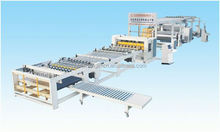 High speed automatic 4 color corrugated carton printing machine packing line/machinery/equipments