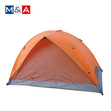 Lightweight Backpacking travelling aluminum frame facet folding camping tent