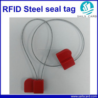 2016 Wholesale passive 13.56mhz rfid steel seal tag price