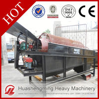 HSM Professional Best Price rotary screen with gold sluices