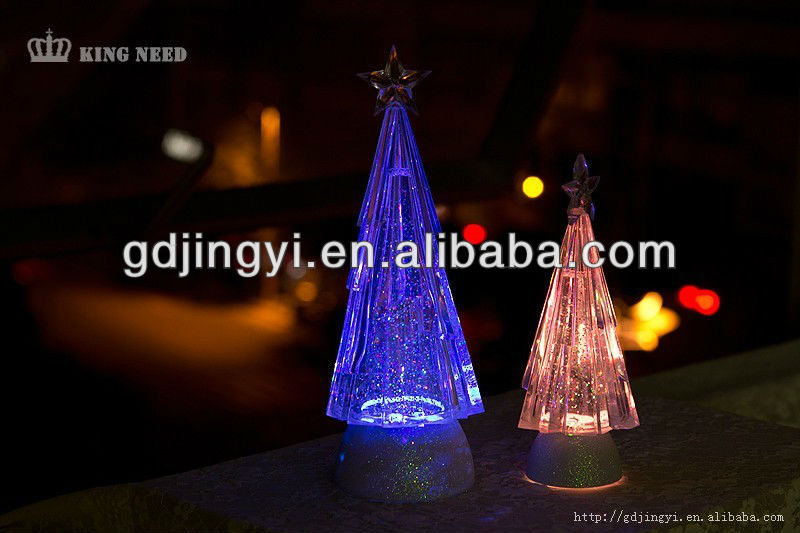 Acrylic Christmas Tree with LED Light