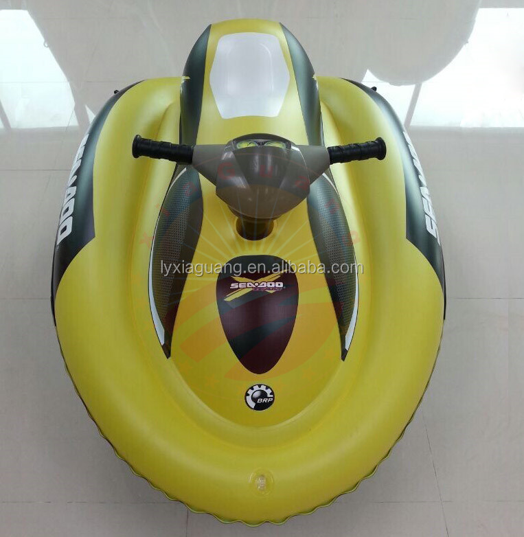 CE certificate China manufacture mini inflatable sea doo kids motor boat jet ski scooter with electric motor