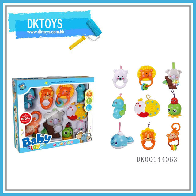 Eco-friendly Lovely Cartoon Baby Belling Toy