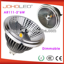 Aluminium reflector housing beam angle 30 degree cob ar111 G53/GU10/E27 13w ar111 track lighting/gu10 led spot