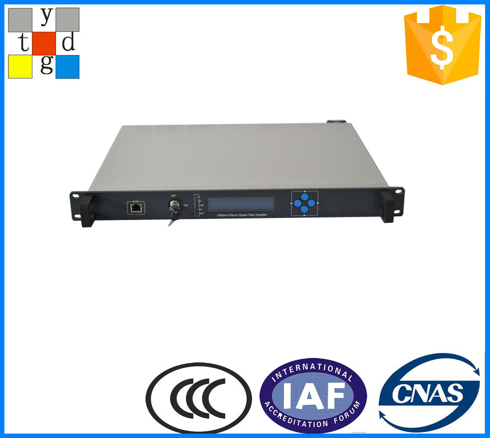 catv signal amplifier 1550nm EDFA optical fiber amplifiers